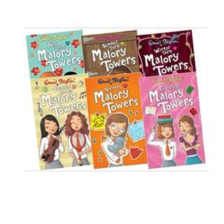 Malory Towers by Enid Blyton (6 Books)