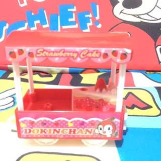 Strawberry cake cart