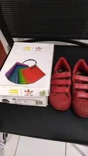 Sepatu anak Adidas Superstar Supercolour