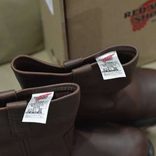 Red wing shoe Leather Hand Made Red wing 8241 Pecos