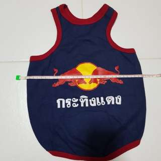 BN Red bull Singlet for dogs & cats (furkids)