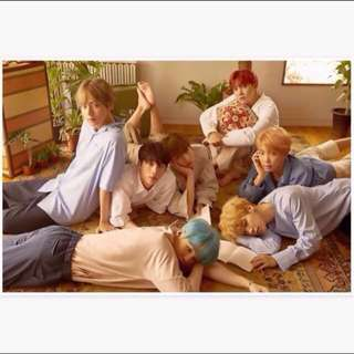 BTS LY posters