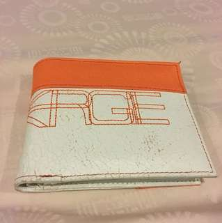 Genuine ENERGIE leather + nylon wallet