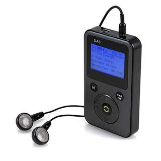 DAB+ Radio, GMYLE® PPM001 DAB/DAB+/FM Portable Rechargeable Digital Radio and MP3 Player
