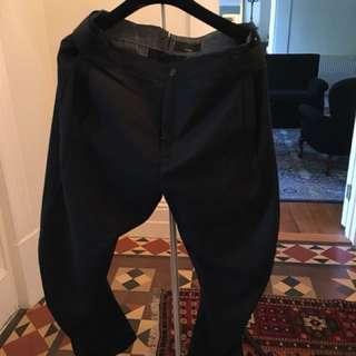 G Star wool pants