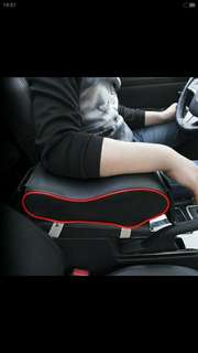Car arm rest w pocket for phone or card