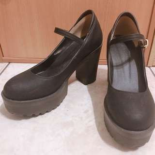 🚚 正韓厚底瑪莉珍鞋