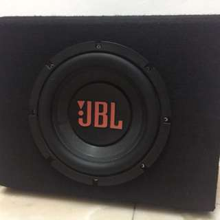 "JBL 10"" double magnet woofer"