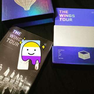 [INTEREST CHECK] WTS WINGS TOUR DVD W/O PC