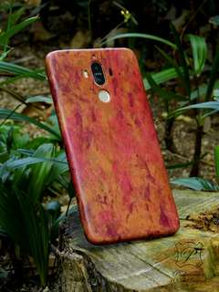 Huawei Mate 9 華為 手工皮革 手機殼 手機套 leather phone case cover DIY