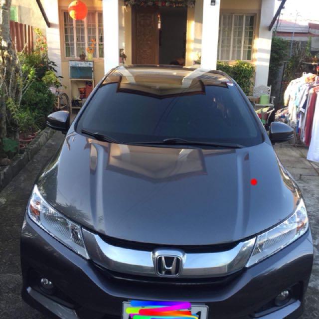 2014 Honda City VX (top of the line)