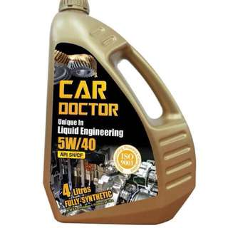 Car Doctor Fully-Synthetic Lubricant 5W/40 Enjin Oil