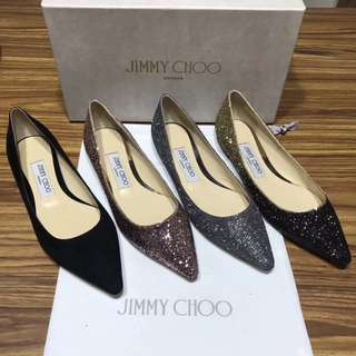 Jimmy choo ! Flat ! 平底鞋