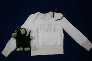 BABE SWEATER PINK