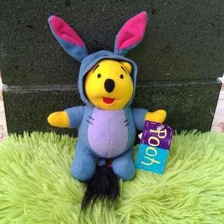 Winnie the Pooh disguise as Eeyore