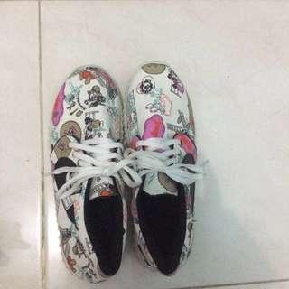 Sepatu sneakers wanita free baju sabrina