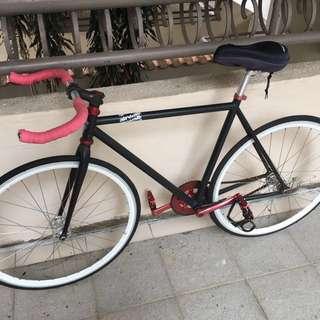 Fixie Bicycle Airwalk Pista Fixed Gear