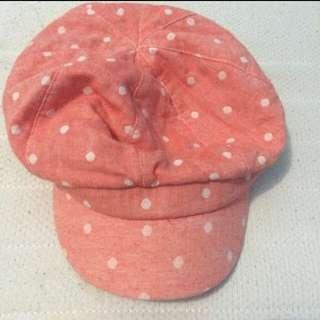 Topi Pink Polkadot