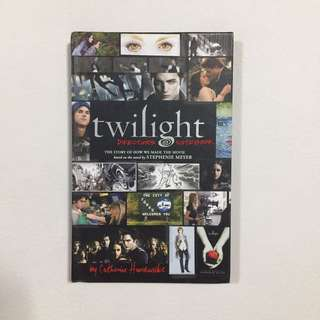 Twilight: Director's Notebook by Catherine Hardwicke (hardbound)