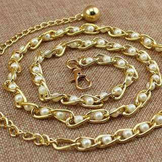 珍珠金色腰帶 Pearl Golden Belt