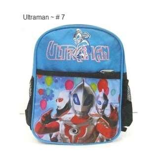 Preschool Bagpack for kids Ultraman7