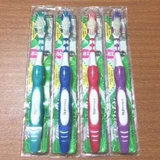 按摩型 刷毛 牙刷 TOOTH BRUSH 綠、藍、桃紅、紫  #有超取最好買