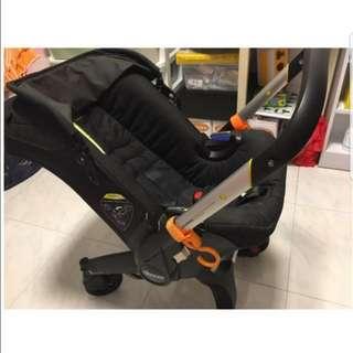 Doona Infant Car Seat Stroller - Black