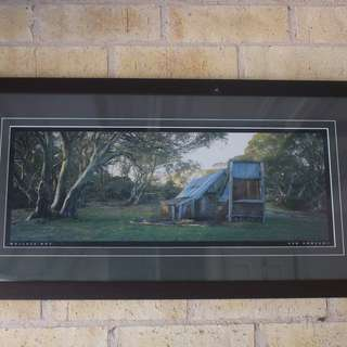 Photo Frame - barn and nature