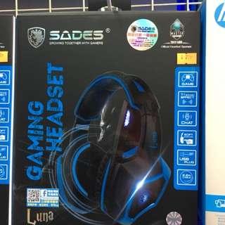 Sades luna 7.1 usb gaming headset