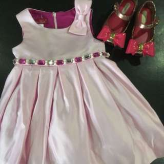 Pink Baby Gown/Dress