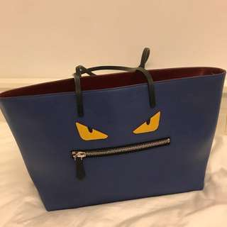 Fendi Monster Tote Shopper Bag