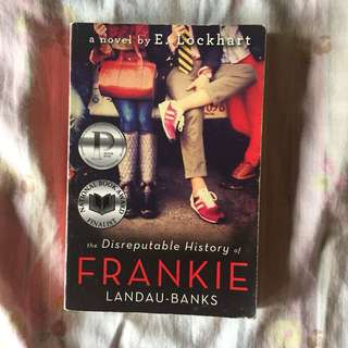 The Disputable History of Frankie by E. Lockhart FOR SALE