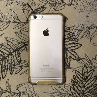 Gold Anticrack Case iPhone 6 PLUS