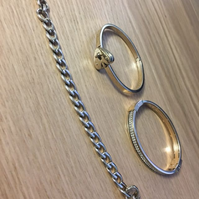 $20 Each - Fossil Gold Bracelet
