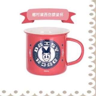 Disney 迪士尼 鄉村系列 黛西 仿搪瓷杯 馬克杯 杯子 #幫我除舊佈新 #好想找到對的人 #有超取最好買