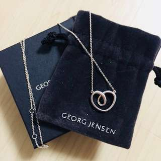 GEORG JENSEN Heart Shape Necklace