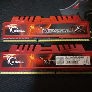 G.SKILL Ripjaws X 4GB Kit - 2 x 2GB DDR3 RAM