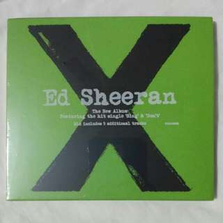 [Music Empire] Ed Sheeran - X CD Album