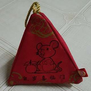 <FREE To Take!!> CNY Pouch with zip