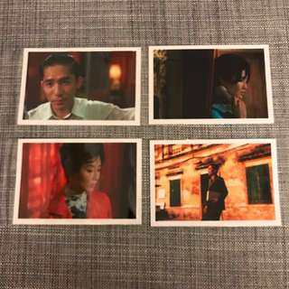 BN 花样年华 In The Mood For Love movie Post Card Wong Kar Wai