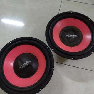 10inch Woofer 300W one pair (Force Stage Auto Hifi of California)