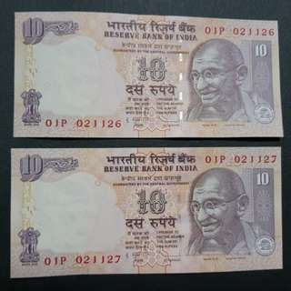 Reserve Bank of India 10 Rupees 🇮🇳 !!!