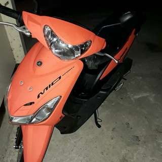 FOR SALE: BRAND NEW MIO SPORTY 115 Color: Matte Orange