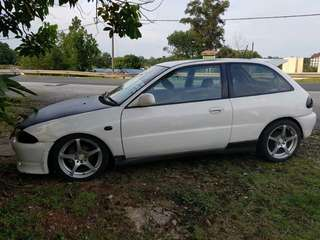 Proton Satria auto injection 1.5cc