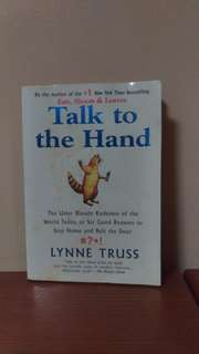 [BOOK] Talk to the Hand