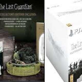 PS4 The last guardian collectors edition