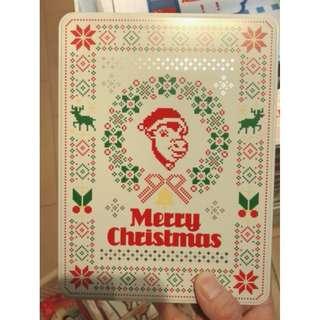 🚚 (現貨商品) 牛牛小舖**日本空運代購 聖誕節限定牛頭餅 蘑菇 海鹽 蜂蜜 三個口味 16入