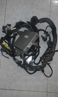 Wiring 4G91 c/w computer box for Satria/Wira
