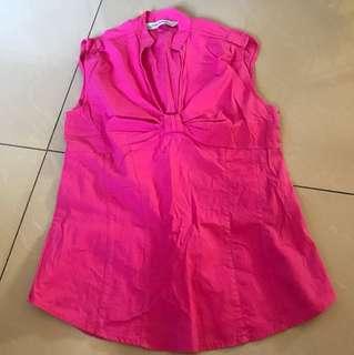 Zara pink blouse
