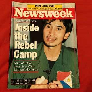 Newsweek magazine Sept 21, 1987 Inside the Rebel Camp #honasan #aquino